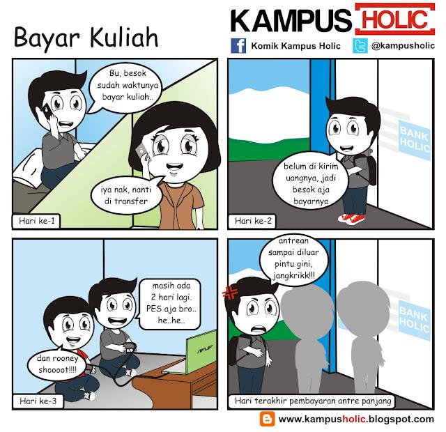 #141 mahasiswa Bayar Kuliah kampus holic