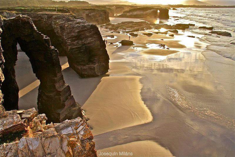 Praia de Aguas Santas  Ribadeo - Playa de Las Catedrales  (Galicia - Spagna)