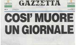 crisi per il Corriere Mercantile di Stefano Maria Toma