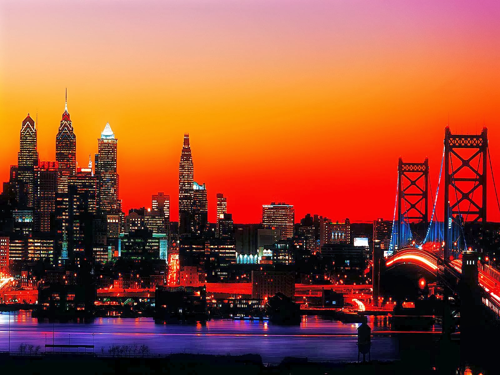 philadelphia magical city pennsylvania united states hd desktop