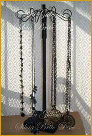 Porta bijoutery - Como colgar collares ...