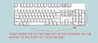 Alt Key Shortcuts for Windows