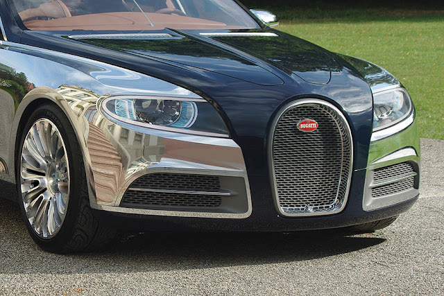 The Most Recent Photos Of The Bugatti Galibier Prototype: