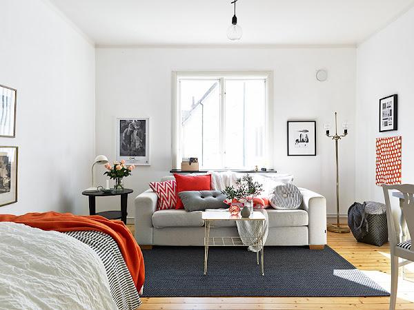 Apartamento 56 metros cuadrados for Como decorar un piso de 40 metros cuadrados
