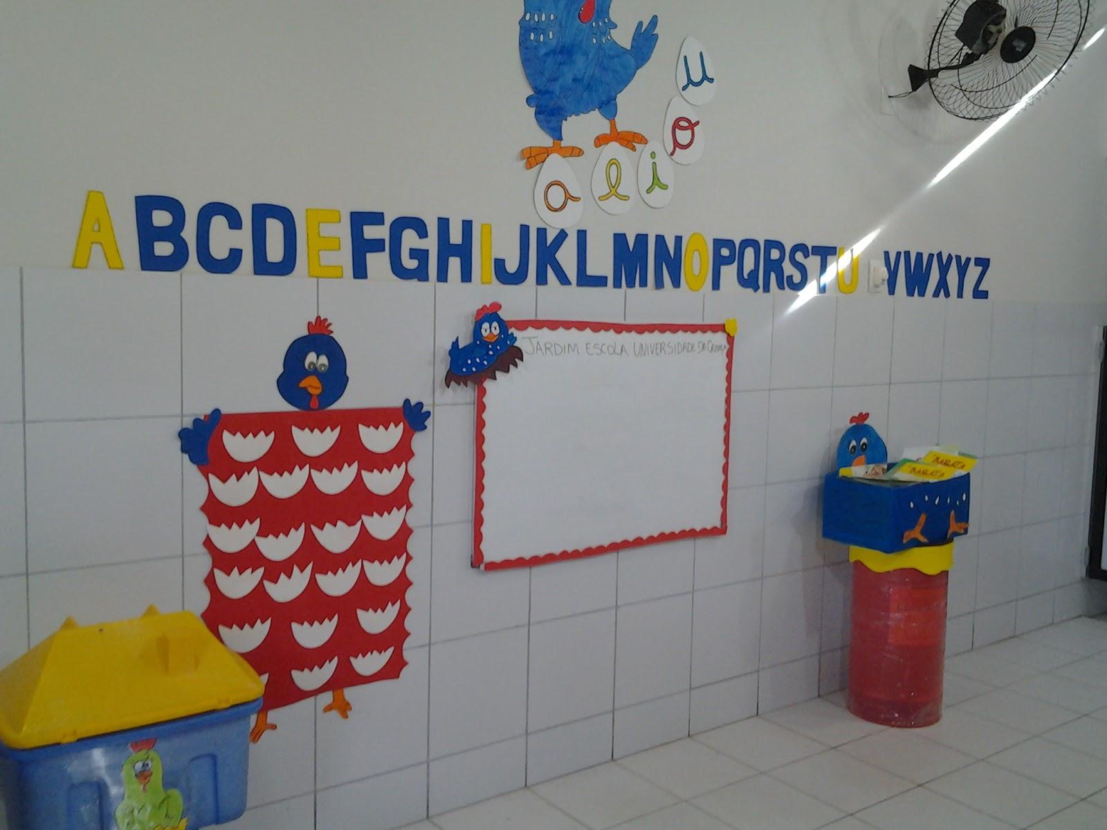 Mãos a arte! Educação infantil decoração de sala de aula