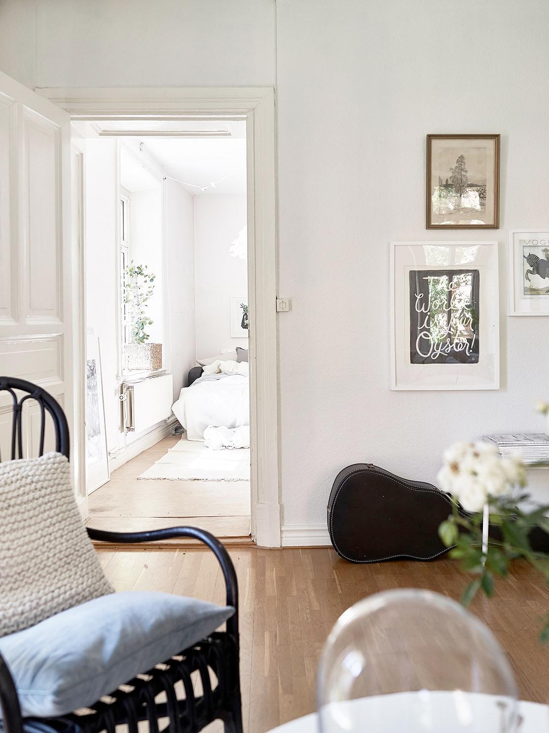 Binnenkijken: zweeds appartement   wonen, maken & leven
