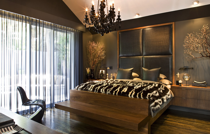 Interior Designer Jeff Andrews Khloe Kardashian Bedroom