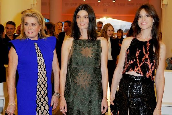 "Venice 2014: premiere of the drama ""3 coeurs"""