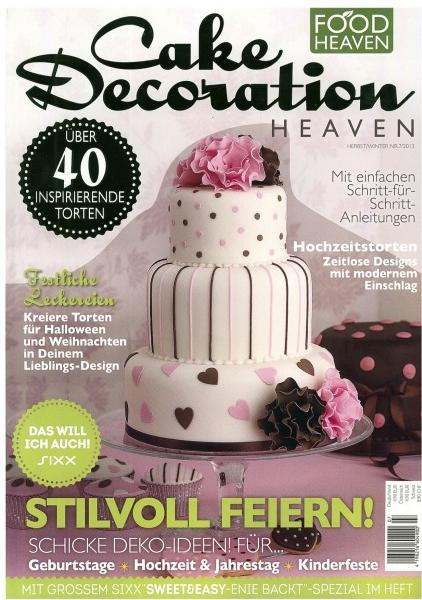 Cake Art Spezial Zeitschrift : Cooking & Fun by Valentina: Nussknacker Torte fur die ...
