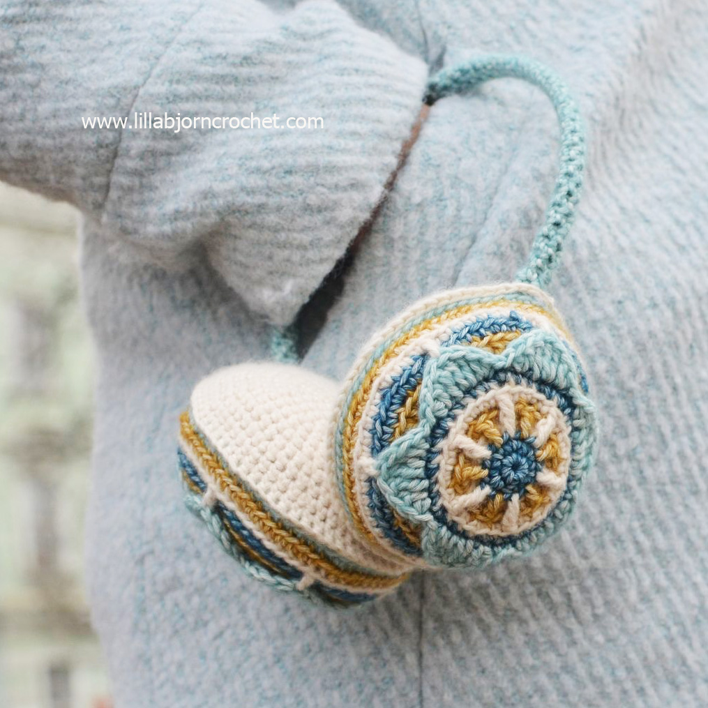 Brighten Your Outfit with Crocheted Ear Muffs ...