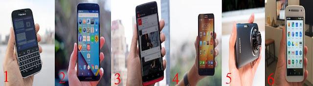 Smartphone Tebal