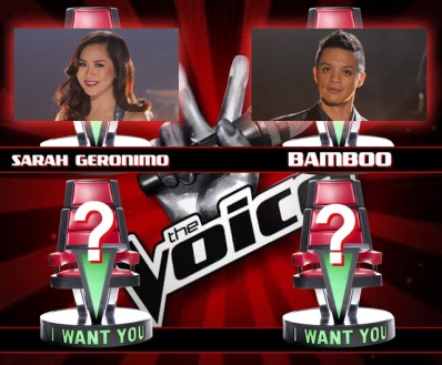 Team Sarah or Team Bamboo? Which team will you be joining? Watch out for the other two big-time coaches of The Voice of the Philippines.