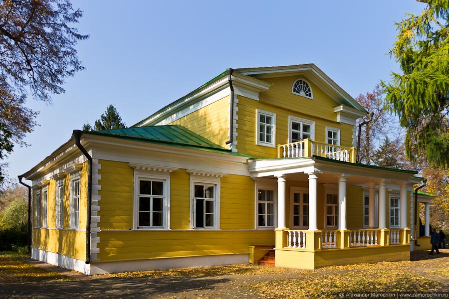 Пушкинская усадьба (фасад). Большое Болдино