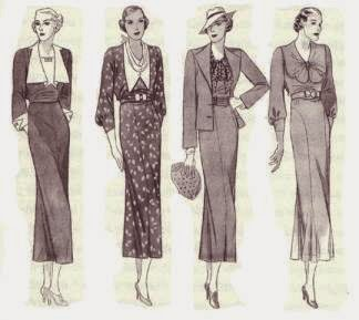 1930 and 1940 fashion 72