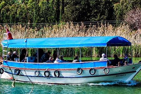 Iztuzu Beach Boat