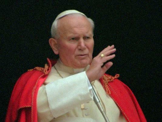 Karol Wojtyła Jan Paweł II papież 1995