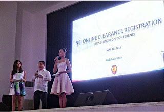 NBI 3-step Clearance Application Online, NBI clearance