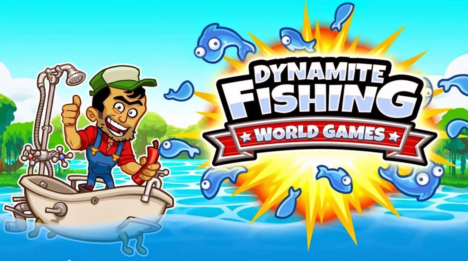 Dynamite fishing v1 1 3 mod apk data phone gadget media for Arcade fishing games