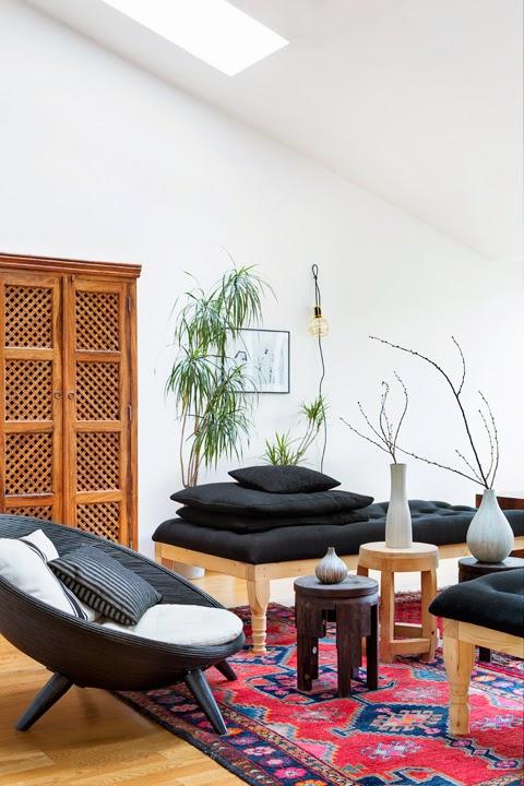 Decoraci n f cil una casa con un estilo tnico vanguardista - Estilo etnico decoracion ...
