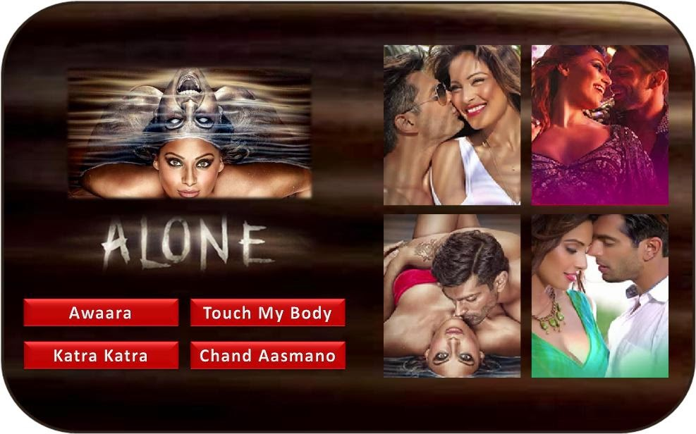 Bipasha Basu and Karan Singh Grover starer Bollywood movie Alone songs and music review