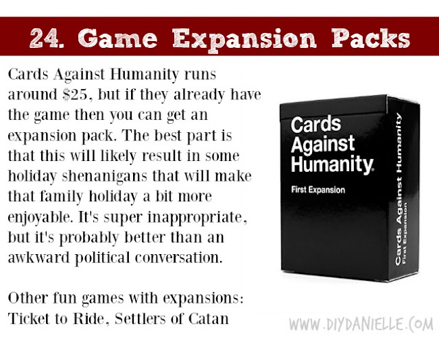 Holiday Gift Idea for Adults: Game Expansion Pack