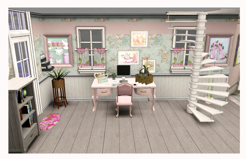 sims addictions shabby go lucky home. Black Bedroom Furniture Sets. Home Design Ideas
