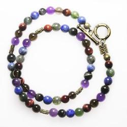 5 Chakras Double Bracelet