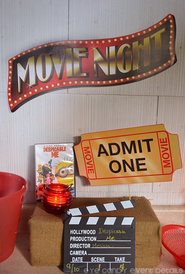 movie night, admit one, dvd movies, family fun, outdoor movie night
