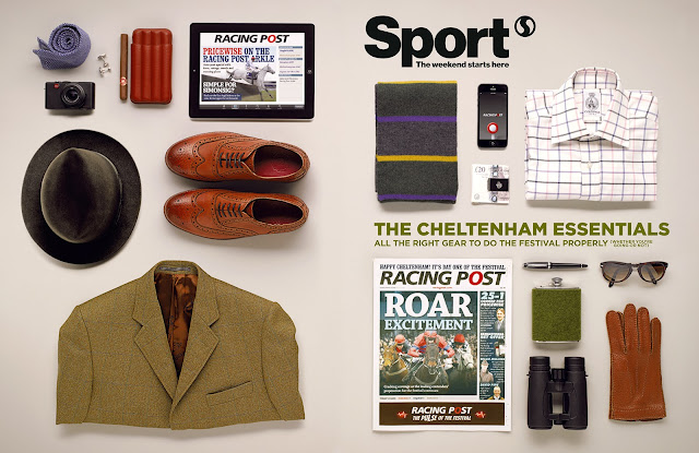Vue Represents: Showcase: David Sykes shoots for Racing Post with Sell Sell