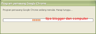 cara install google chrome