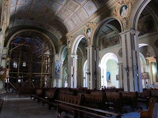 Santiago de Cuba church interior
