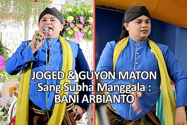 Joged & Guyonan Cucuk Lampah Subha Manggala/ Cucuk Lampah Bani Arbianto dengan Pranoto Adicoro pada Pernikahan YUNI & MISNO dipersembahkan oleh Edi Peni Wedding Organizer