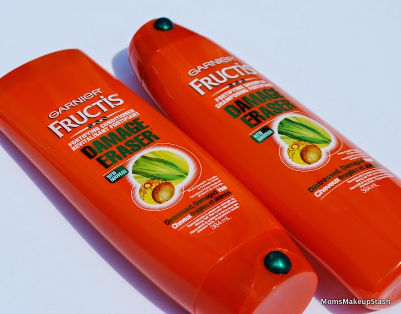 Garnier Fructis, Damage Eraser, Garnier Damage Eraser Fortifying Shampoo, Garnier Fructis Split-End Bandage Serum, Damage Eraser Conditioner, Garnier Fructis Strength Reconstructing Butter