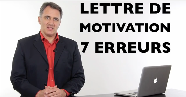 video  comment r u00e9diger une bonne lettre de motivation et les erreurs  u00e0  u00e9viter