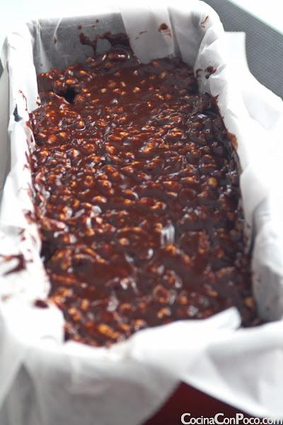 Turron de Chocolate - Receta paso a paso - Especial Navidad