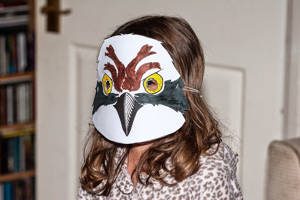 Bo's Osprey Mask (coloured in by here, design from RSPB)