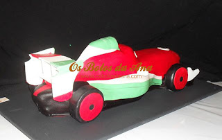 Bolo Francesco Bernoulli Cars McQueen