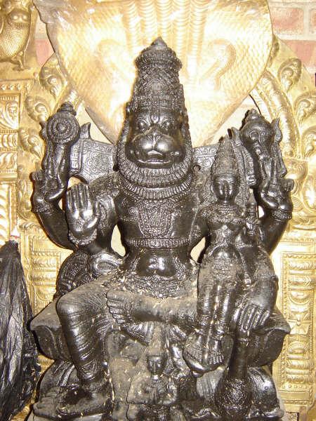 Free Download Hindu God Lakshmi Narasimha Picture