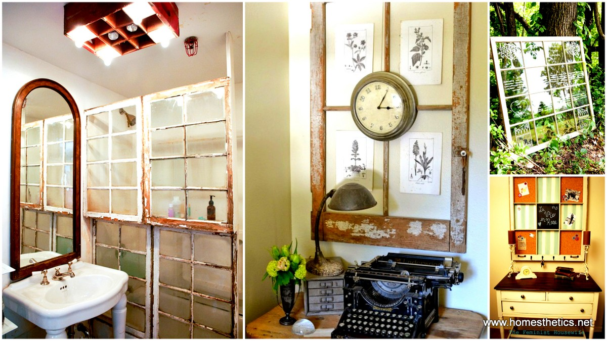 100 simple and spertacular ideas on how to recycle old for Old window project ideas