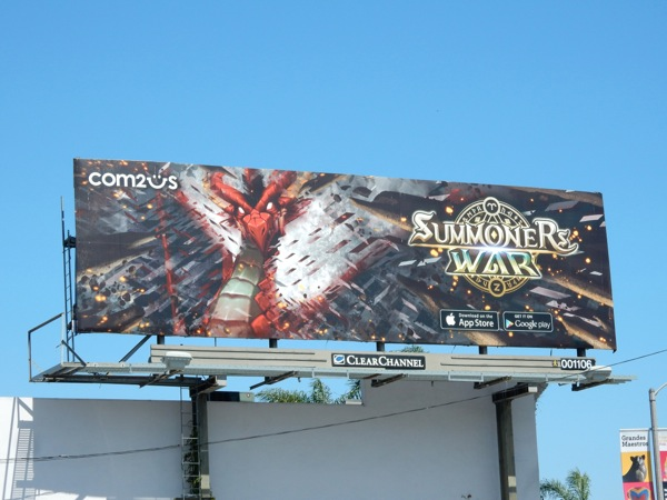 Summoners War dragon billboard