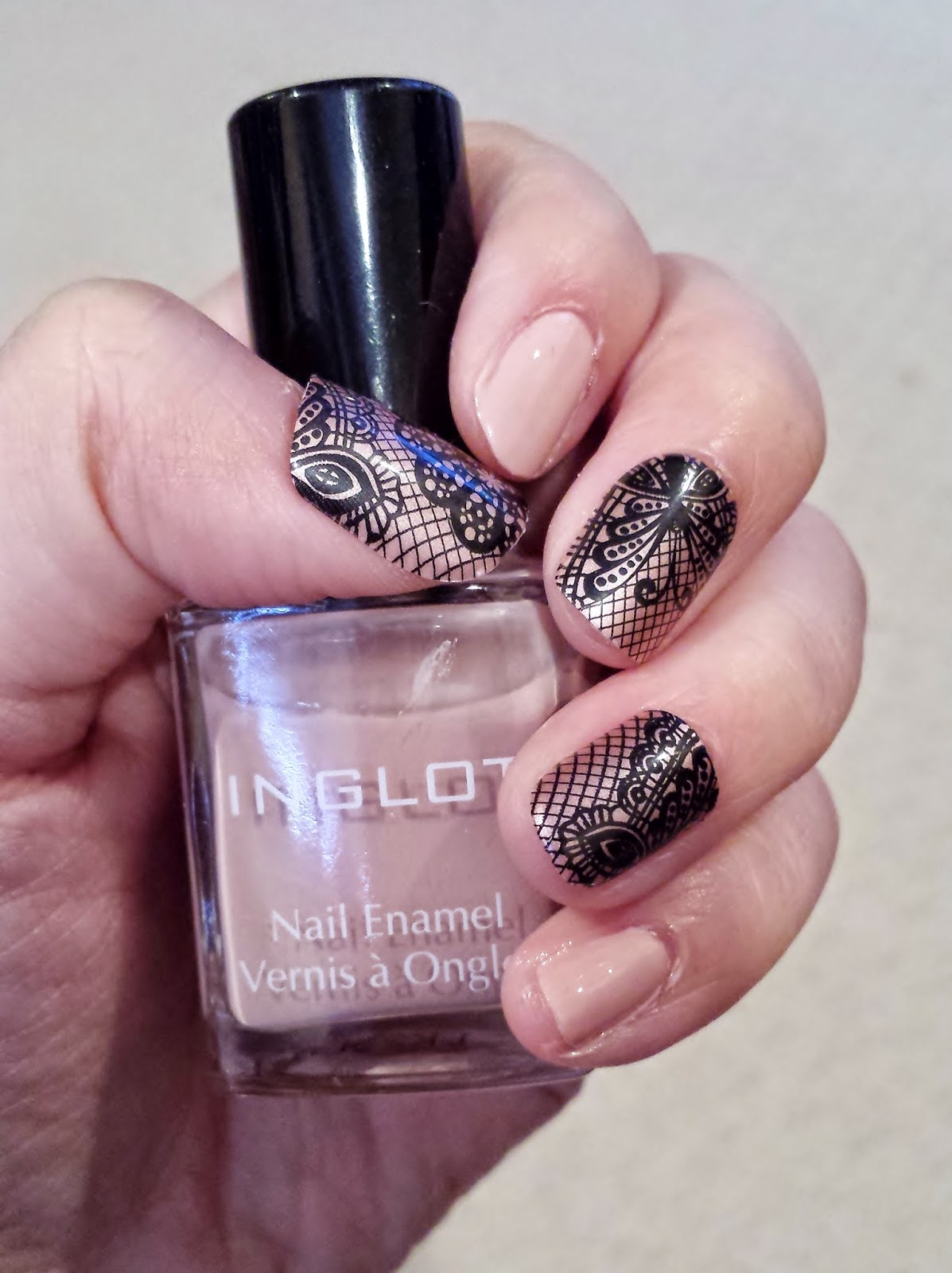 Just J: imPress press-on nail manicure from Broadway Nails