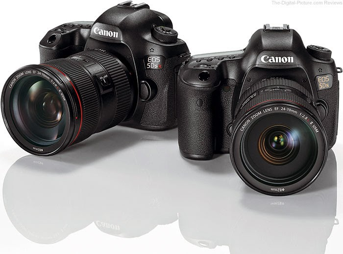Canon Camera EOS 5Ds R and EOS 5Ds