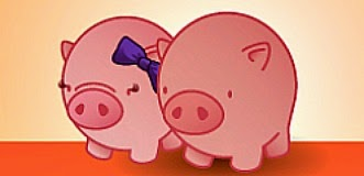 Vincent and Lady Pig - Student Financial Savers