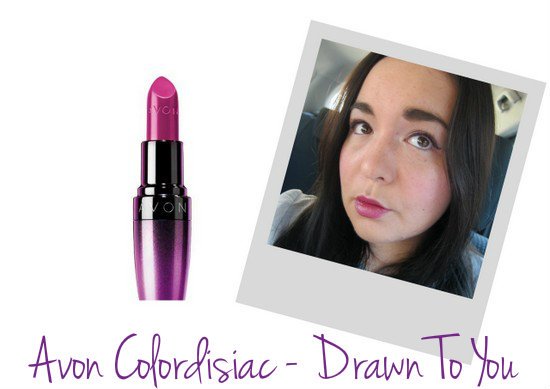 Avon Colordisiac Lipstick in Drawn To You