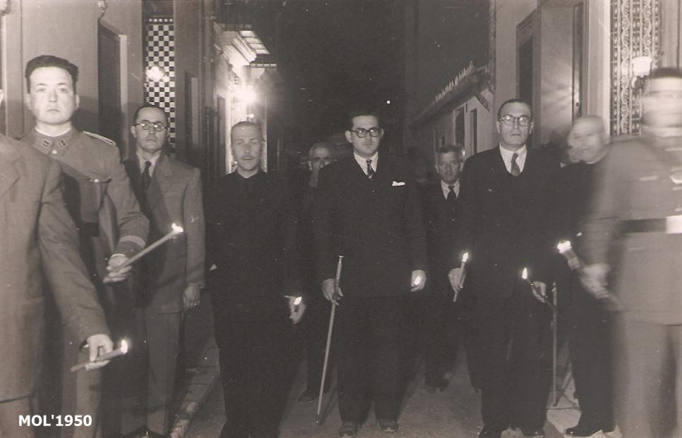 27.12.16 DON SANTIAGO DÍEZ MAZO, ALCALDE DE MANISES EN EL AÑO 1950