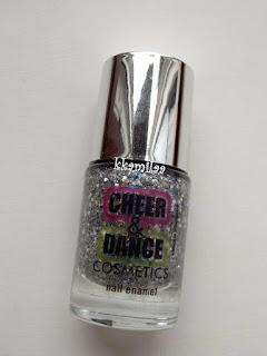 Cheer&Dance Cosmetics, Brokatowy lakier do paznokci