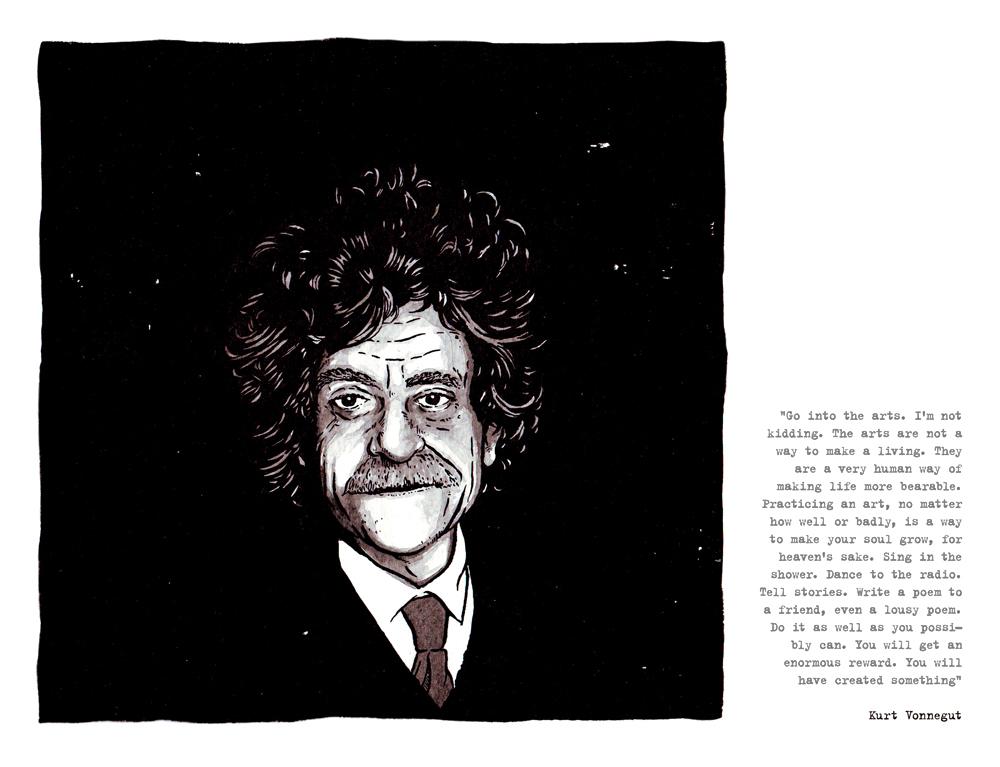 kurt vonnegut Las mejores frases de kurt vonnegut jr, aforismos y citas seleccionados por mundi frases com.