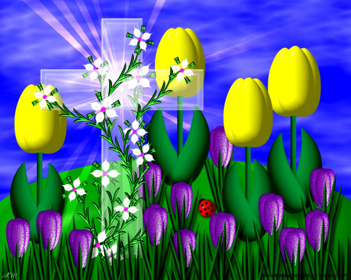 religious spring flowers wallpaper best wallpaper background