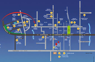 Amrapali Titanium :: Location Map