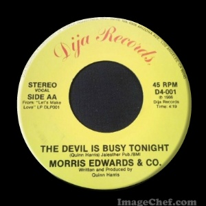 MORRIS EDWARDS & CO . - The Devil Is Busy Tonight